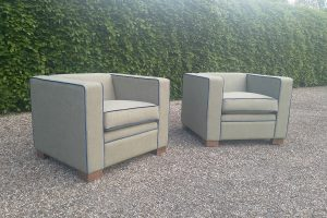 Two Bespoke Armchairs