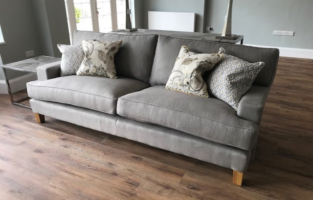 Grey Bespoke Sofa