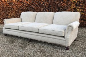 Bespoke Cream 3 seater sofa