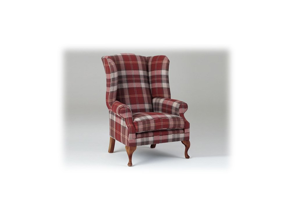 Shelly High Back Armchair